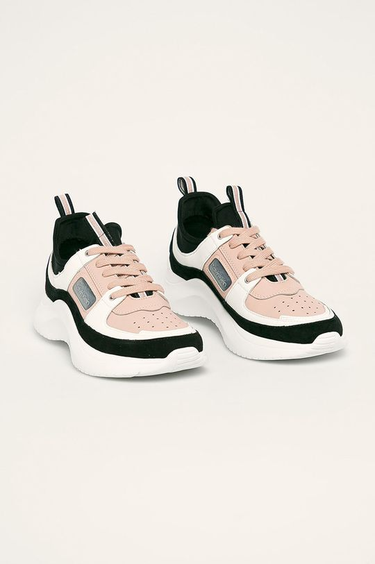 Calvin Klein - Boty pastelově růžová