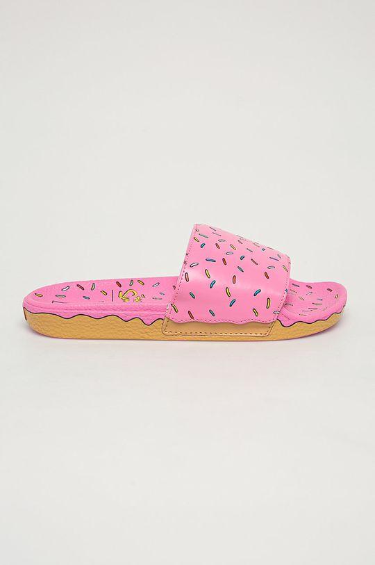 ružová Vans - Šľapky x The Simpsons Dámsky