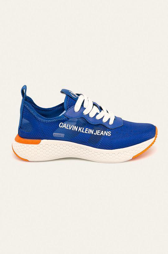 modrá Calvin Klein Jeans - Boty Dámský