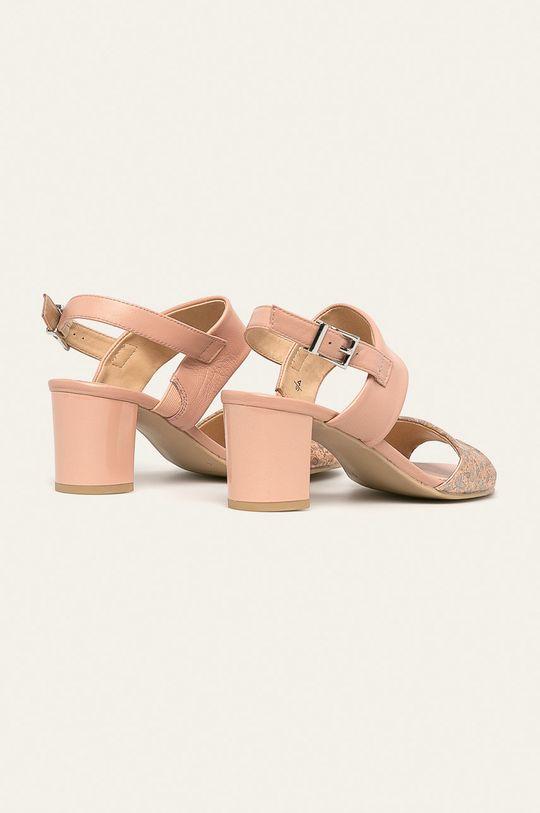 Caprice - Sandale de piele  Gamba: Piele naturala Interiorul: Piele naturala Talpa: Material sintetic