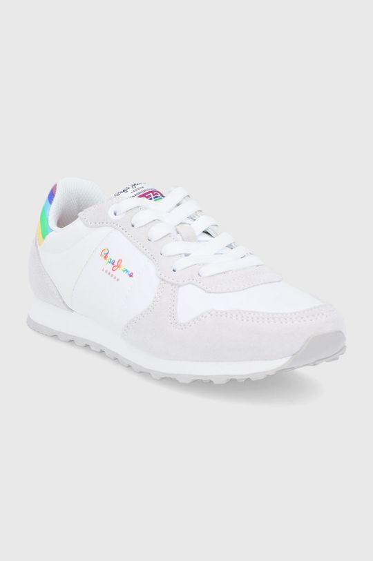 Pepe Jeans - Topánky Verona W Pride biela
