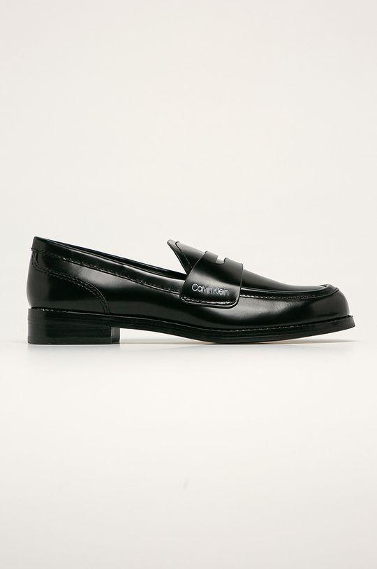 negru Calvin Klein - Pantofi de piele De femei