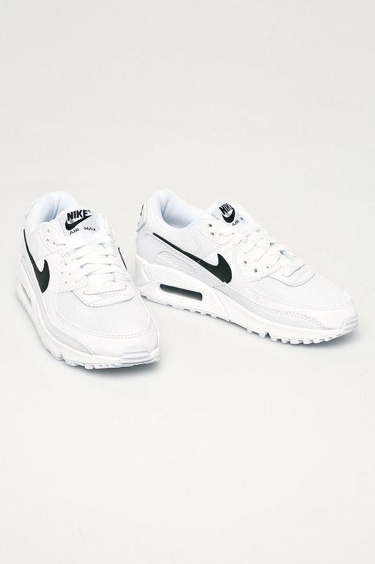Nike - Boty Air Max 90 bílá