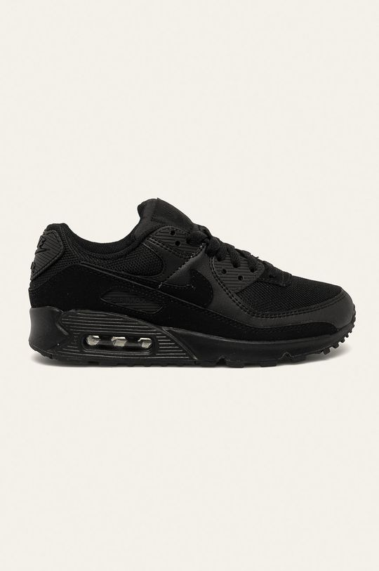 czarny Nike - Buty Air Max 90 Damski