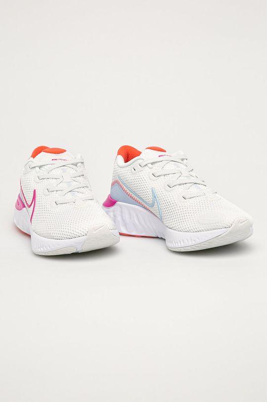 Nike - Pantofi Renew Run alb