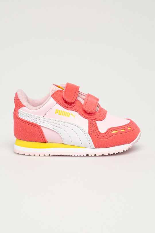 růžová Puma - Dětské boty Cabana Racer SL V Inf Dívčí