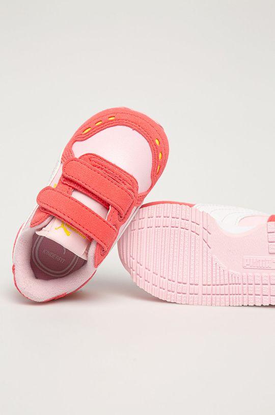 růžová Puma - Dětské boty Cabana Racer SL V Inf