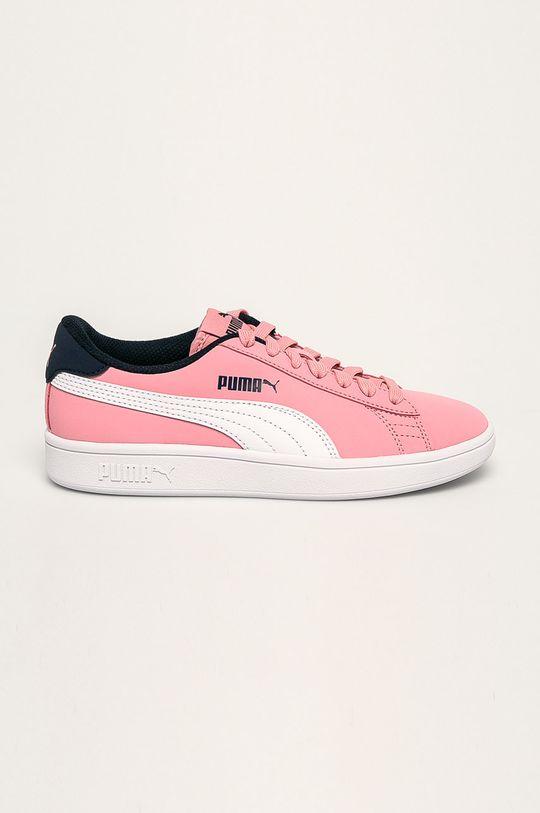 roz Puma - Pantofi copii Smash v2 Buck De fete