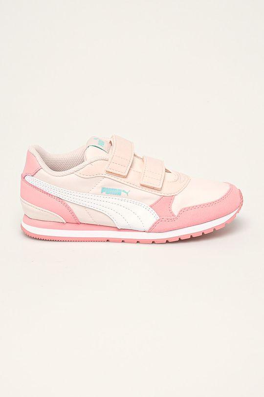 roz Puma - Pantofi copii ST Runner v2 Nl V PS De fete