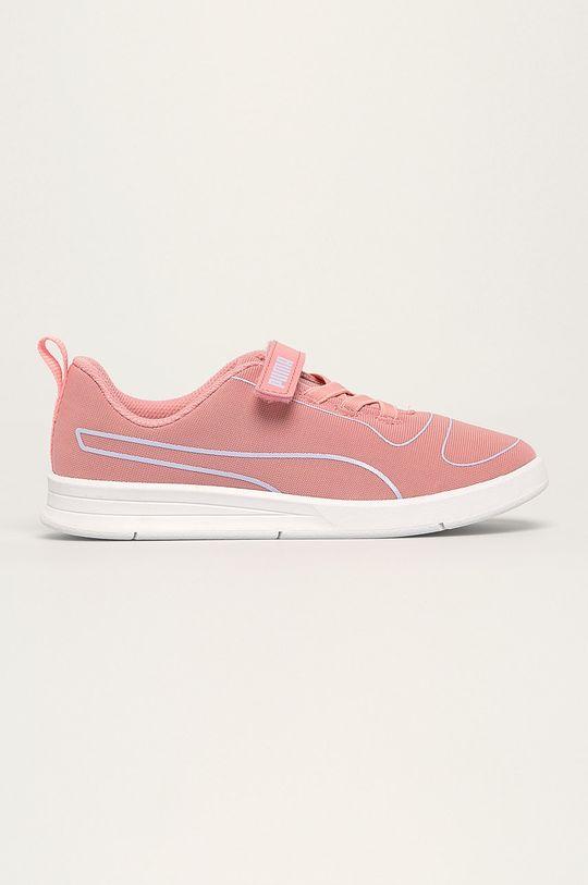 ružová Puma - Detské topánky Kali V PS Dievčenský