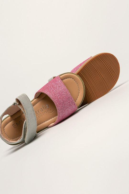 růžová Emu Australia - Dětské sandály Ainslie