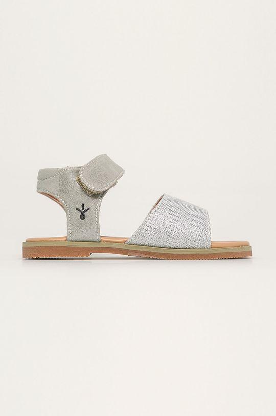 stříbrná Emu Australia - Dětské sandály Ainslie Dívčí