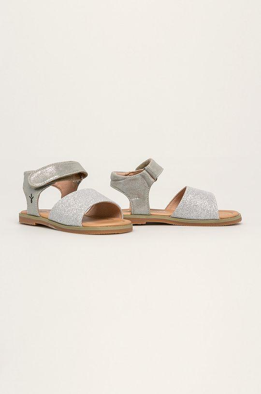 Emu Australia - Dětské sandály Ainslie stříbrná