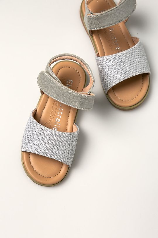 stříbrná Emu Australia - Dětské sandály Ainslie