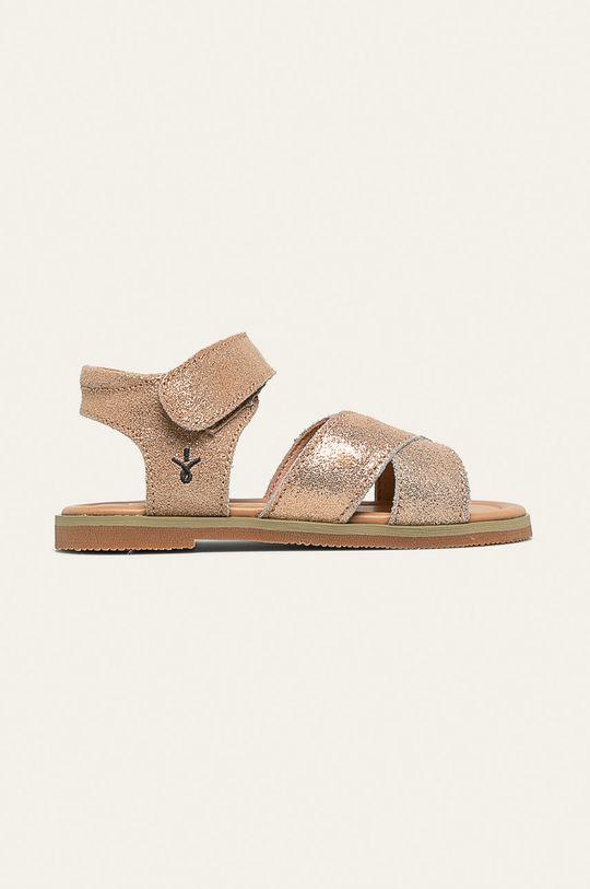 zlatá Emu Australia - Detské sandále Rose Dievčenský