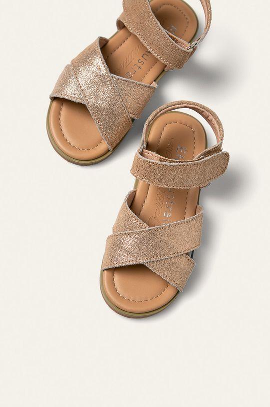 zlatá Emu Australia - Detské sandále Rose