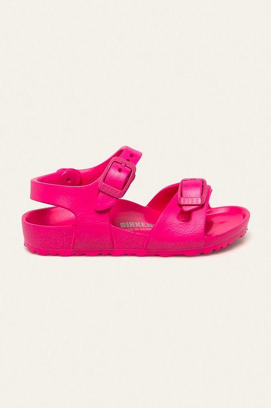 růžová Birkenstock - Dětské sandály Rio Dívčí