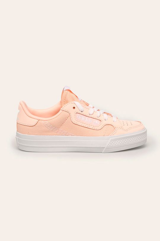 roz adidas Originals - Tenisi copii Continental Vulc C De fete