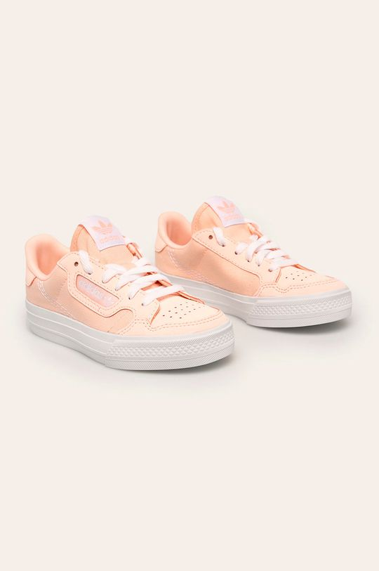 adidas Originals - Tenisi copii Continental Vulc C roz