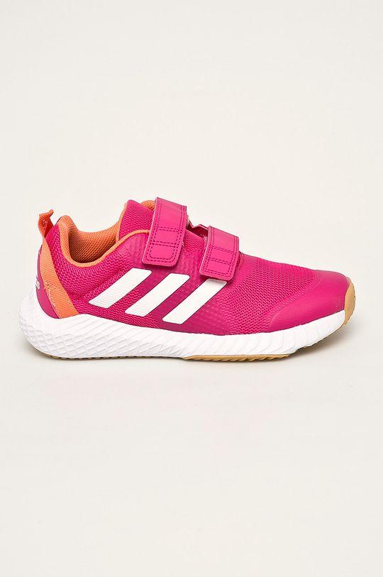 roz ascutit adidas - Pantofi copii De fete