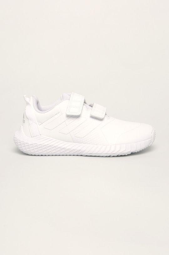 biela adidas - Detské topánky FortaGym CF Dievčenský