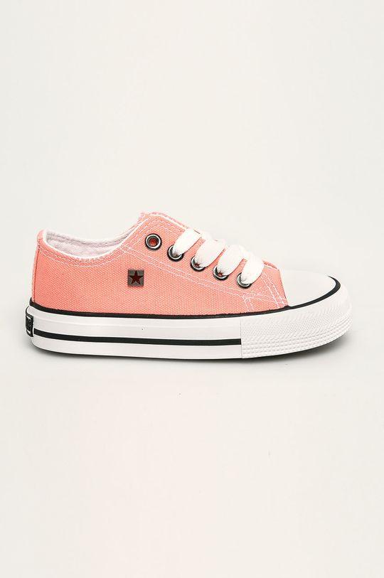 pastelově růžová Big Star - Dětské tenisky Dívčí