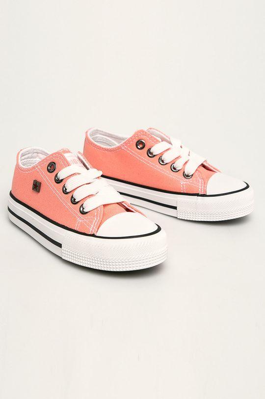 Big Star - Dětské tenisky pastelově růžová