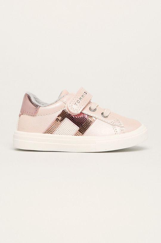 ružová Tommy Hilfiger - Detské topánky Dievčenský