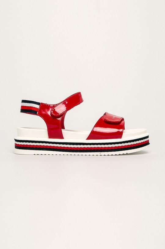 červená Tommy Hilfiger - Detské sandále Dievčenský