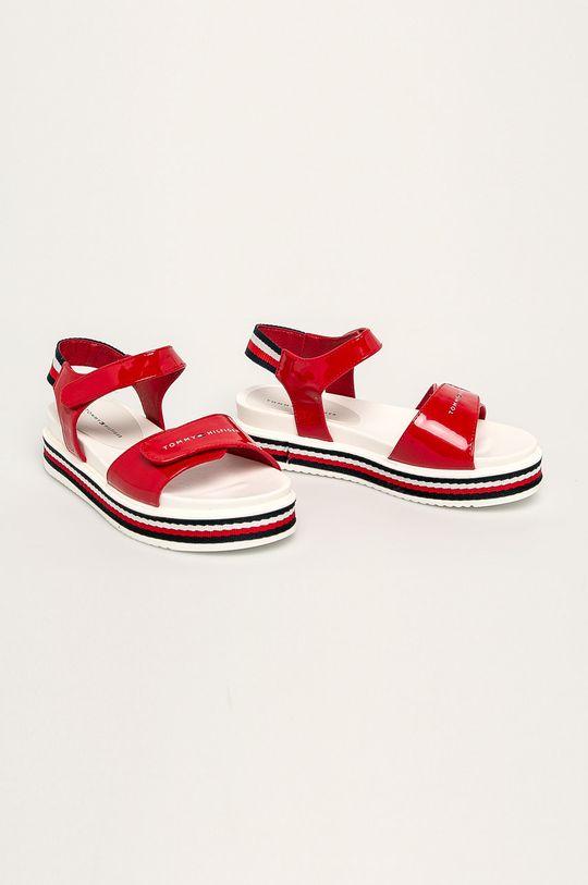 Tommy Hilfiger - Detské sandále červená