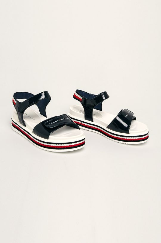 Tommy Hilfiger - Detské sandále tmavomodrá