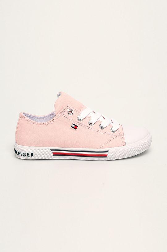 różowy Tommy Hilfiger - Tenisówki dziecięce Dziewczęcy