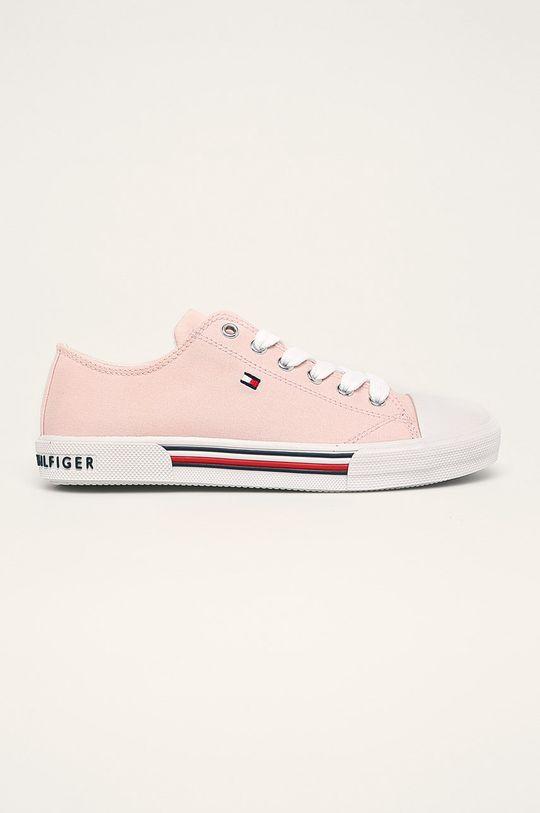 růžová Tommy Hilfiger - Dětské tenisky Dívčí