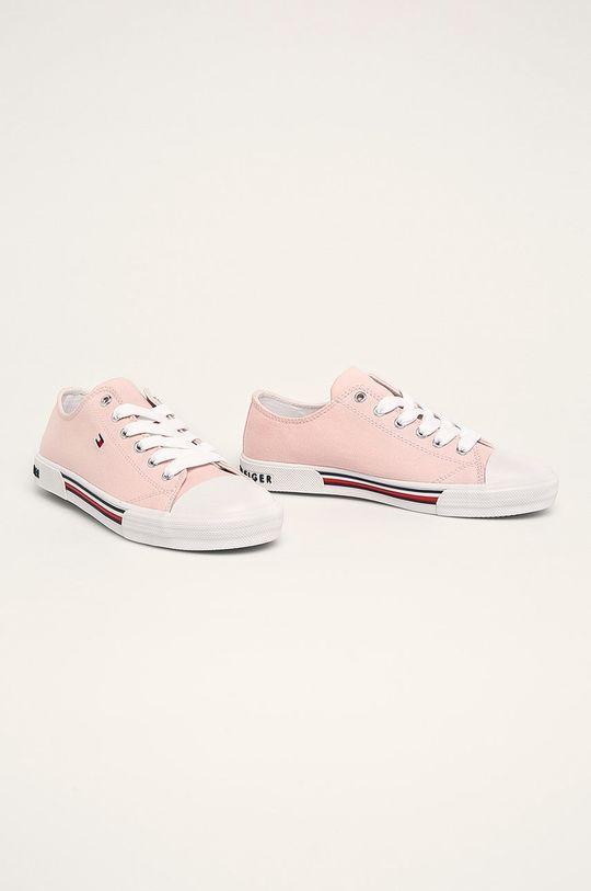 Tommy Hilfiger - Dětské tenisky růžová