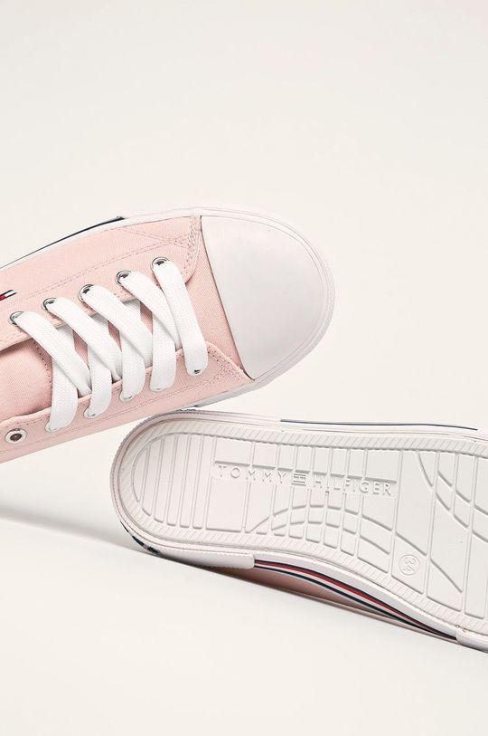 růžová Tommy Hilfiger - Dětské tenisky