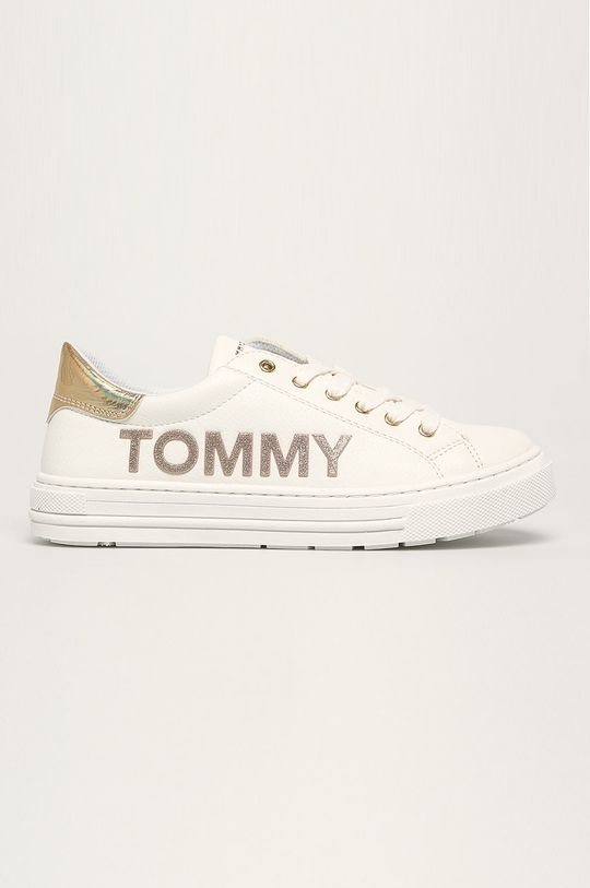 biela Tommy Hilfiger - Detské topánky Dievčenský