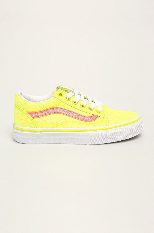 žlutá Vans - Dětské tenisky Dívčí