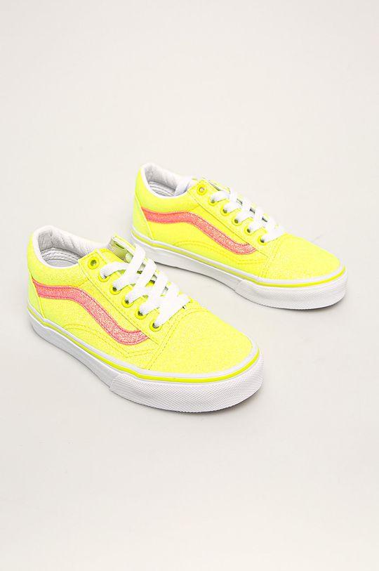 Vans - Dětské tenisky žlutá