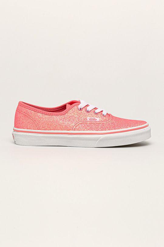 růžová Vans - Tenisky Neon Glitter Authentic Dívčí