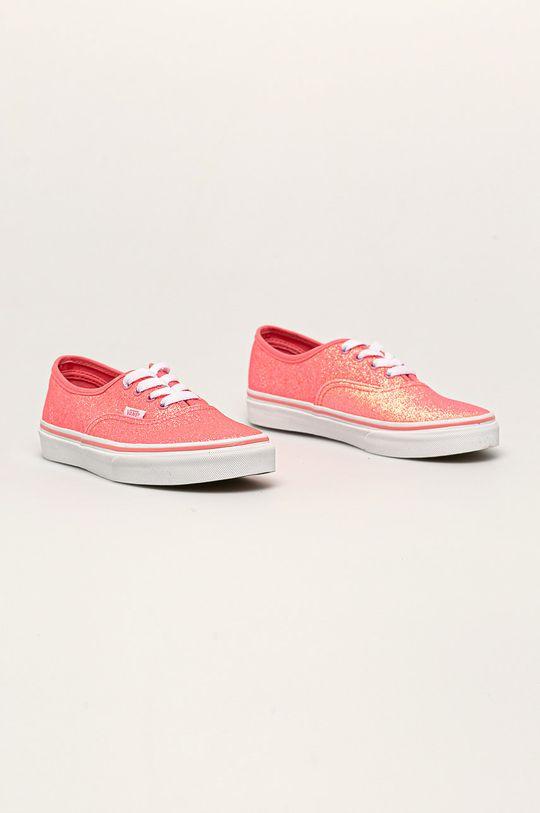 Vans - Tenisky Neon Glitter Authentic růžová