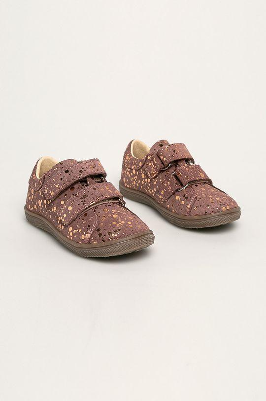 Mrugała - Pantofi copii roz pastelat
