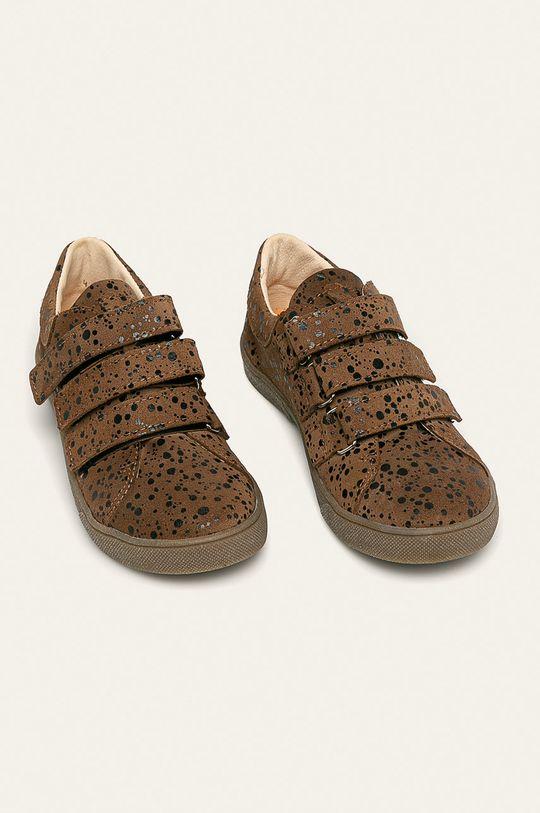 Mrugała - Дитячі черевики коричневий