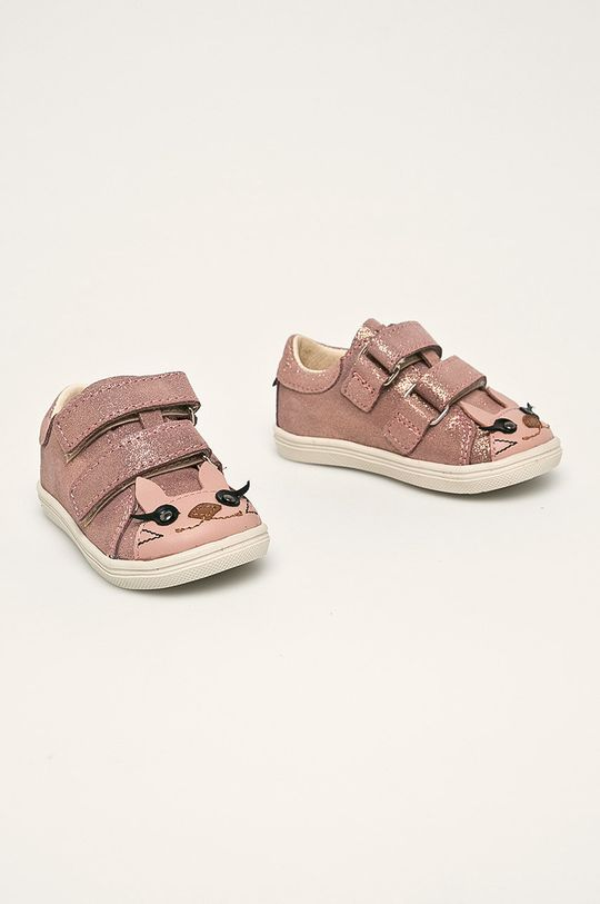 Mrugała - Pantofi copii roz ascutit