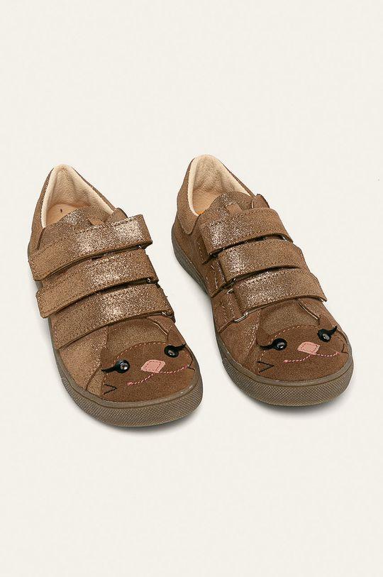 Mrugała - Pantofi copii aur