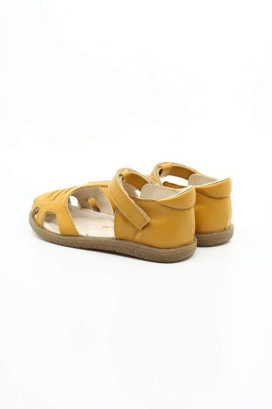 Mrugała - Sandały dziecięce żółty