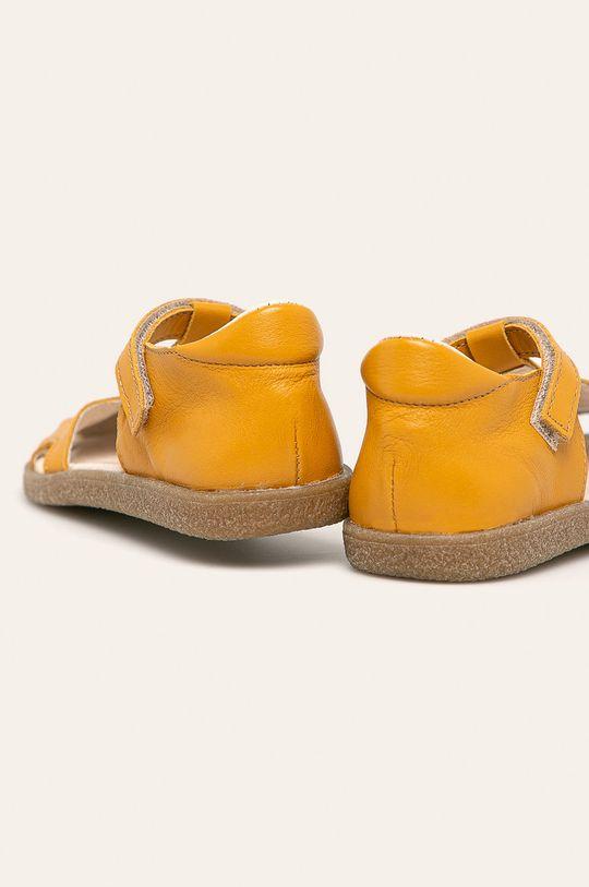 żółty Mrugała - Sandały dziecięce