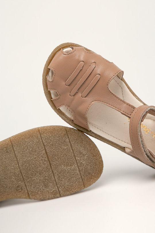 beżowy Mrugała - Sandały dziecięce