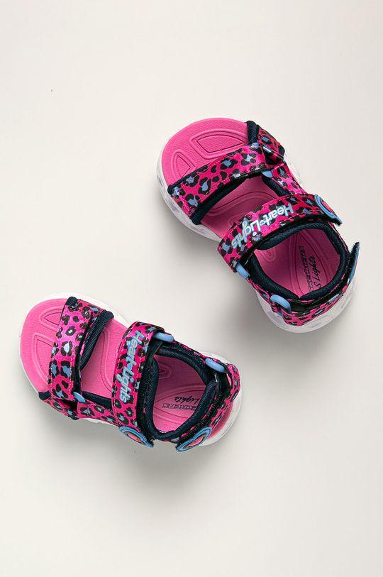 Skechers - Sandały dziecięce Dziewczęcy