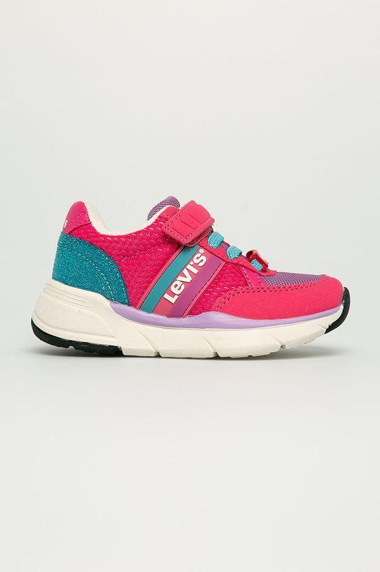 roz ascutit Levi's - Pantofi copii De fete