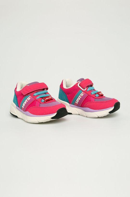 Levi's - Pantofi copii roz ascutit